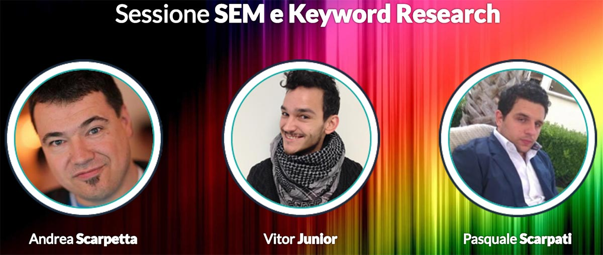 Sessione sem e keyword research
